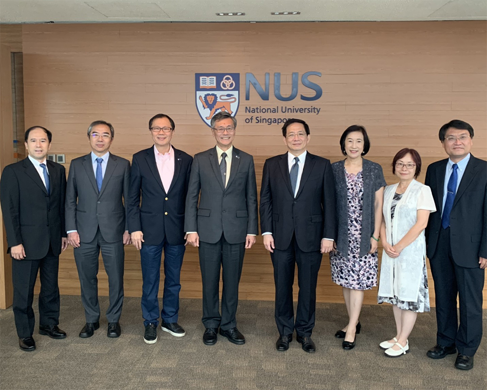 Collaborations with NUS Furthered in EECS, Management, and Chinese